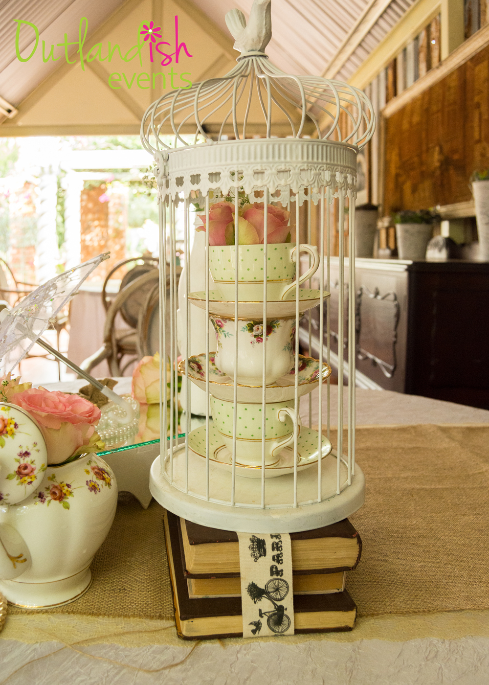 Outlandish Events Signature Themed Event - The Vintage Baby Shower
