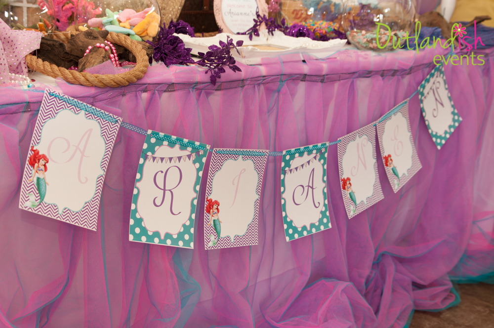 Under The Sea 1st Birthday Party