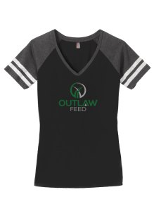 Outlaw Feed Game Women's V-neck
