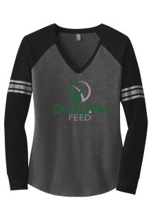 Outlaw Feed Game Women's Long Sleeve T-shirt