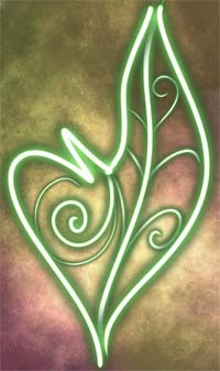 This sigil heals and strengthens body and spirit, and brings overall luck. I channeled the sigil and placed it here to bless my shamanic treatment ceremonies.