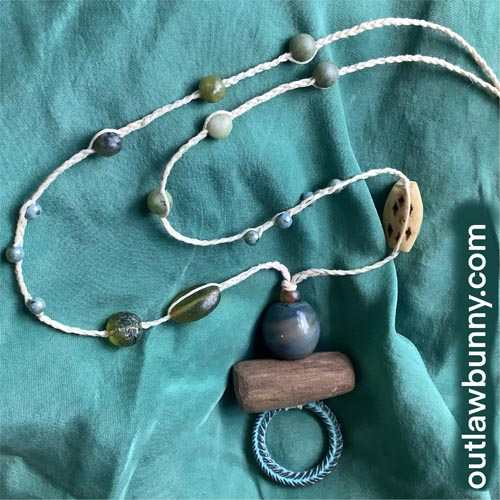 Picture of the necklace that is shown throughout this post