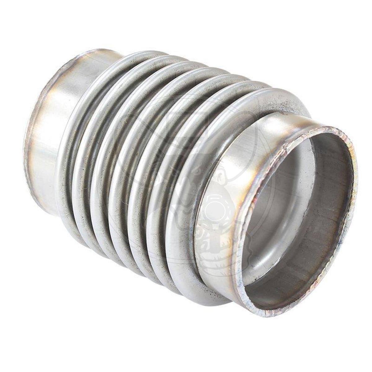 af9500 1750 aeroflow exhaust flex joint 1 3 4 od x 4 long stainless steel