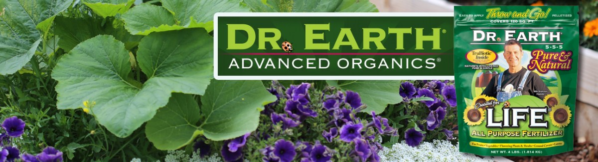 Balanced & Fast Nutrition With Dr. Earth® Life® All Purpose Fertilizer