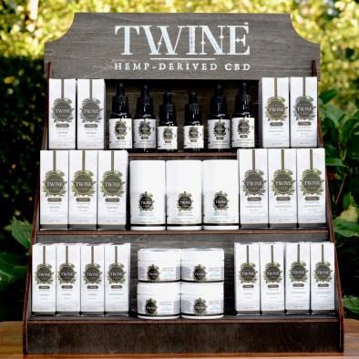 TWINE CBD Display