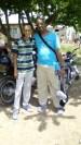 Ruddy Carrera and his missionary friend Oscar Tortolero
