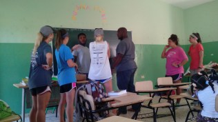 English class at La Colonia.
