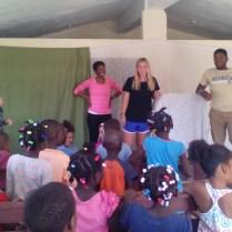 Children Bible Class in Los Cocos.