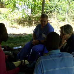 Medical Clinic in Nueva Rosa with Dr. Jerry Graham and his team.