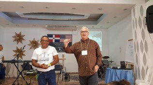 Pastor Doug Sarver was our main speaker