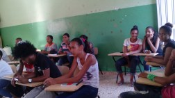 English class at La Colonia.