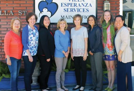 Photos courtesy Villa Esperanza Services Blue & White Committee members preparing for Villa Esperanza's May 20 fundraiser include (from left) Maryann Seduski, Dr. Lori Levi, Jenny Seto, Janet Louie, Jeri Wright, Annissa Deshpande, Marcie Robinson and Melissa Wu.
