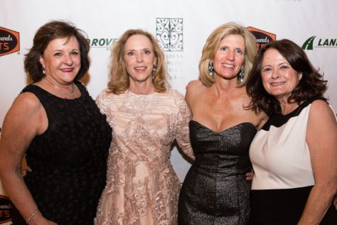 Photo courtesy Melissa Castro Pasadena Showcase House for the Arts President Lynn Mehl (from left), Premiere Night chair Karen Butcher and Premiere Night chair Annette Sellon, and benefit chair Dana Marevich celebrated last Friday.