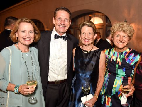 Outlook photo Pasadena Community Foundation President and CEO Jennifer DeVoll is shown with her husband, Matt (from left), outgoing PCF chair Judy Gain and Lauren Frankel.