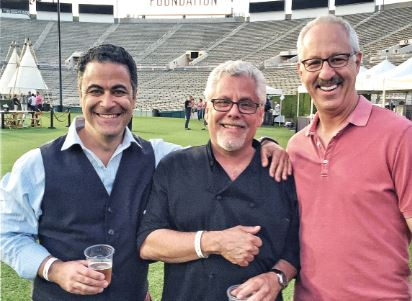 Robert Shahnazarian, Claud Beltran and Rob Levy were among those who enjoyed a prior Masters of Taste fundraiser to benefit Pasadena-based Union Station Homeless Services. This year's event will be held on Sunday, May 6, at the Rose Bowl.