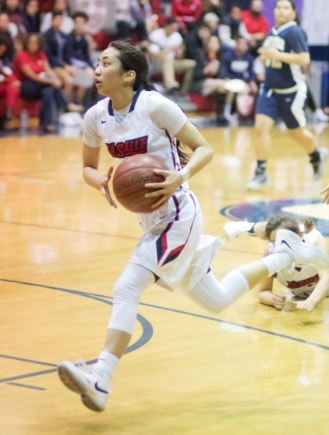 Photo courtesy Eric Danielson La Salle senior basketball standout Julia Macabuhay was named the John R. Wooden CIF-SS Division III Player of the Year.