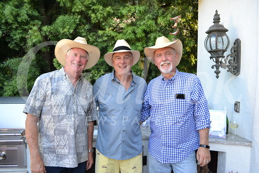 Mike Leininger, Woody Walker and Jeff Hemphill
