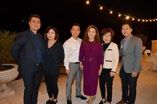 Jonah and Ruth Lee, Ben and Rebekah Park, Yun Park and David Kim