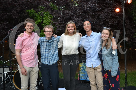 Ryder Buck Scholarship recipients: Jordan Stroud, Colin Lyman, Nicole Reynolds, Jonathan Ha and Ashley Knutson