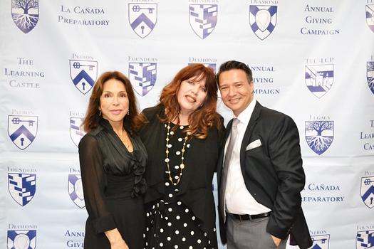 Founder and Director Terry Villanueva, Diamond Service Award honoree Joy Gillman and Assistant Director Justin Whalin