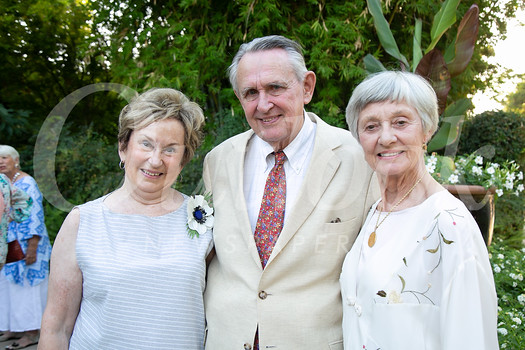 Jane Herrmann, Arnie Mulder and Betsey Tyler