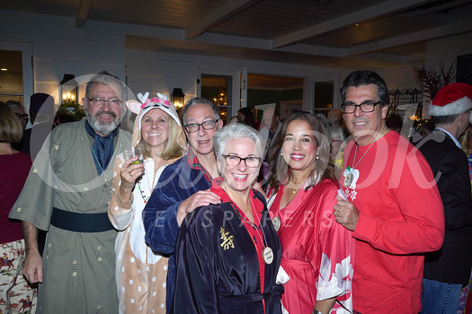William Pinney, Sarah Culhane, Scott and Carolyn Siegal, and Tina and Omel Nieves