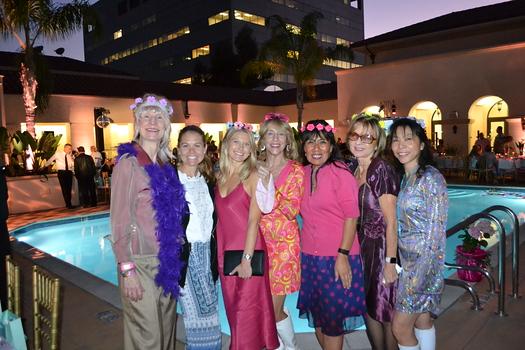 Kathleen Briley, Haley Kirk, Riley Mathies, Julie Nesbit, Melinda Gonzalez, Lisa Edwards and Jacqueline Kent