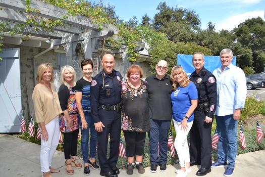 Tricia McMullan, Claudia Fisher, Robin Stever, Police Chief John Perez, Rosey Bell, Darrell Done, Lori Ramirez, Bill Grisafe and Joe Mamone