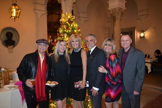 George and Jenan Musulli, Norma Mardelli, Todd Mangiafico, Lori Ramirez and Gary Forecast
