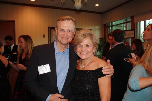7 Phil Van Horn and Elizabeth House Executive Director Debbie Unruh