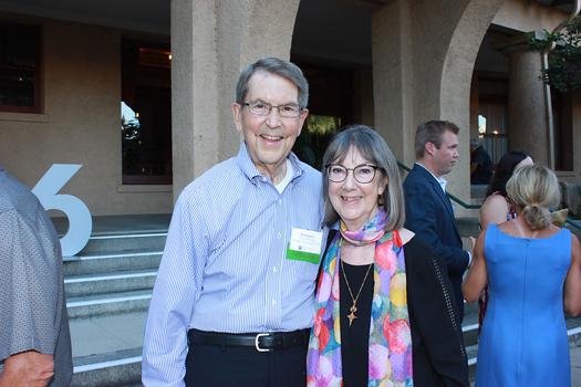 Bill Bogaard and Susan Mossman