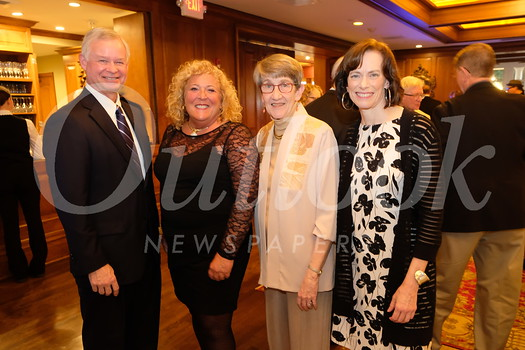 Rick Graber (representative from the Lynde and Harry Bradley Foundation), honoree Patricia Gatto-Walden, honoree Stephanie Tolan and Shelagh Gallagher.