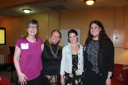 Melissa Johnson, Ellen Snortland, Adriane Kruer and Morgan Fletcher