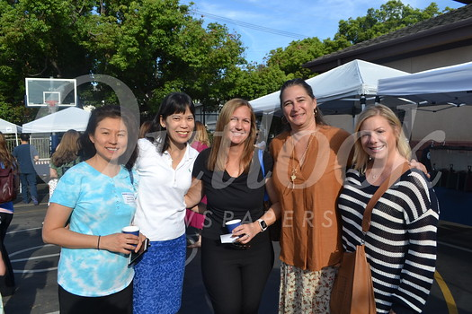 Julie Wong, Helen Wu, Nicole von Thaden, Lyn Salembier and Tracy Grohs