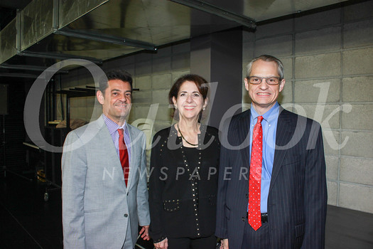 Dan Maljanian, Diane Rankin and Reynolds Cafferata