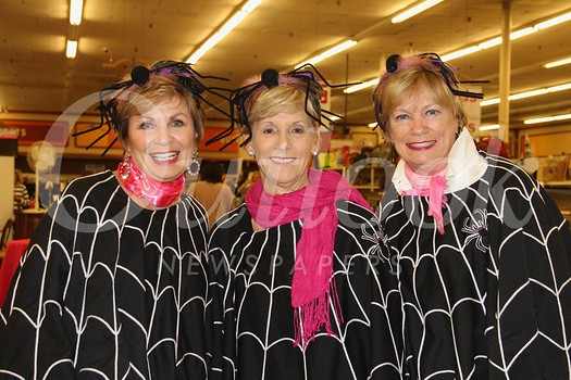 Becky Garnett, Jinny Dalbeck and Barbara Baptie