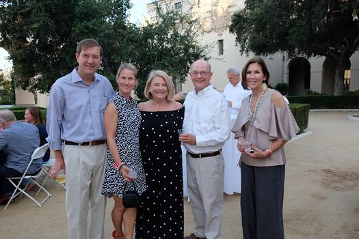Colin and Megan Barr, Cinty Kepner, Pasadena Symphony and Pops Board President Ray Kepner and Melinda Emery