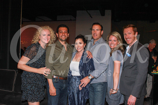 Jennifer and Pasha Zargarof, event hosts Farrell and Shane Foley, Stephanie Duchene and Michael Duvall