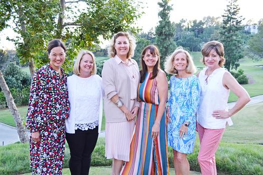 Susan Blaisdell, Patti Jameson, Dr. Lori Morgan, Megan Foker, Ruth Pasqualetto and Becky Sarni