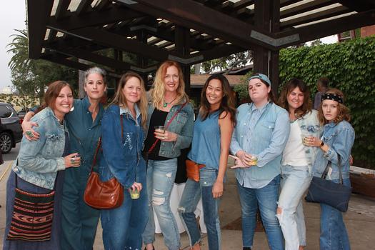 Jamie Chapman, Erin Trefry, K T  Waller, Lauren Arroyo, Jenny Hazell, Erin Bates, Lisa Nicola and Rikki Johnson