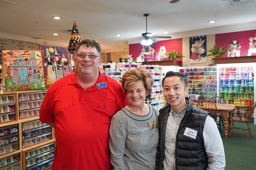 Dan Hodgkiss, Susan Jakubowski and Toan Nguyen