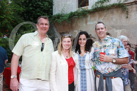Matthew Krappman and Sarah Rogers with Jennie and Chris McNulty