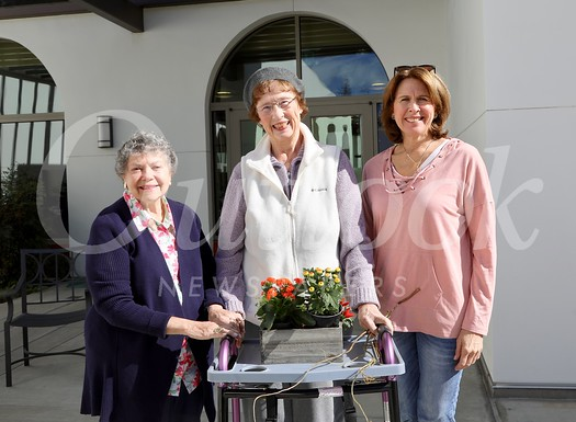 Marilyn Peck, Gretchen Notley and Wendy Taylor Greenleaf