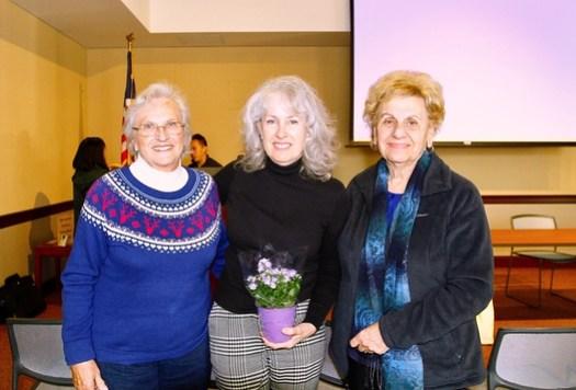 Terry Golden, Karen Montella and Marie Shiepe