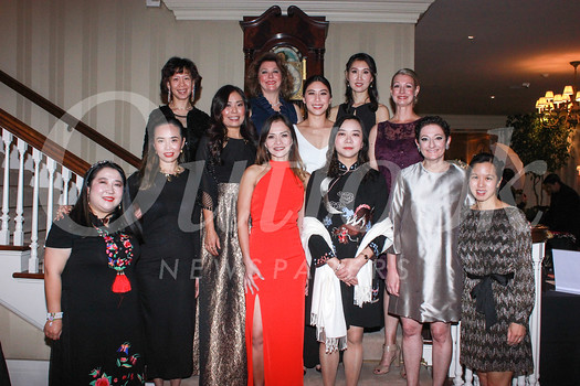 Diana Han (front row, from left), Tieu-My Nguyen, Maria Villamil, Elaine Lu, Jane Feinberg and Jennifer Park. Middle row: Cheryl Hom, Lina Wu and Cori Solan. Back: Wendy Yang, Jennifer Rodgers and Yuhan Feng.