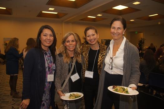 2 Jennifer Chuang, Alison Moller, Cyndy Metcalfe and Leslee Talt