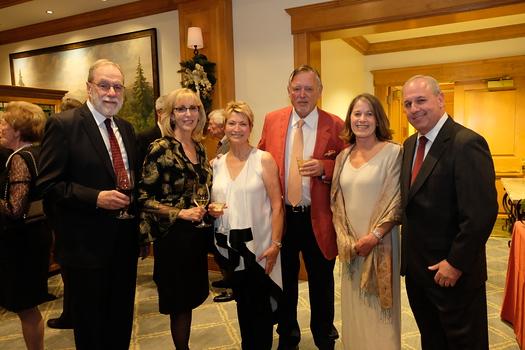 Tony Koerner, Norah Morley, Marlys and Tom Murray, Janette Moore and Mark Baratta