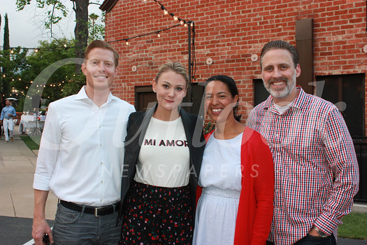 Mark and Laura Repstad with Melissa and Jeff Boozell