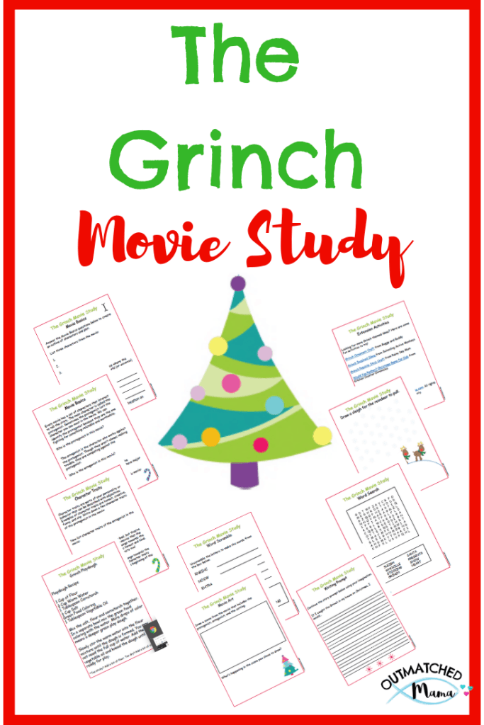 How The Grinch Stole Christmas Movie Study Freebie