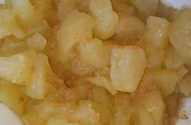 appelcompote van granny smith appels